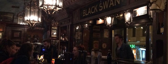 Black Swan Pub is one of Food. Moscow.