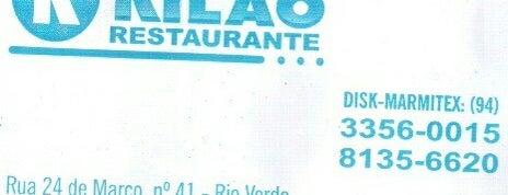 Restaurante Kilão is one of Restaurantes.