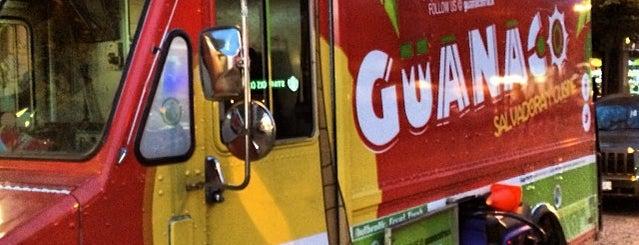 Guanaco Salvadoran Cuisine food truck is one of The best Vancouver food trucks.