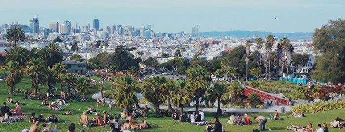 Mission Dolores Park is one of San Francisco.