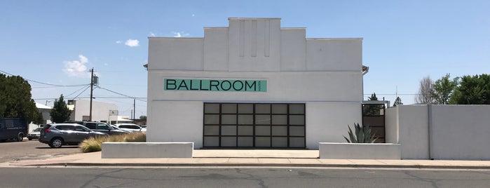 Ballroom Marfa is one of Marfa.