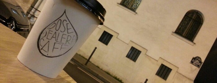 DOSE – Dealer de Café is one of Paris.