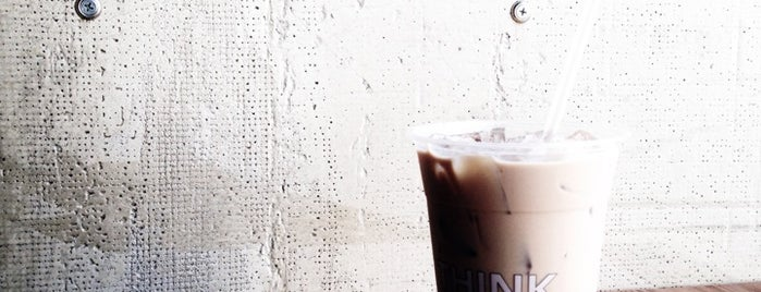 Think Coffee is one of New York best coffee shops: the ultimate list.