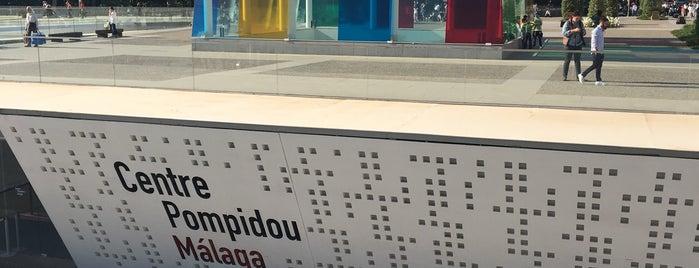 Centre Pompidou Málaga is one of 🔰MALAGA.