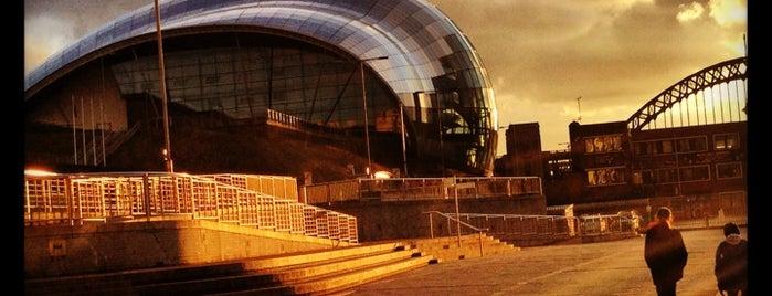 Sage Gateshead is one of Newcastle Upon Tyne.
