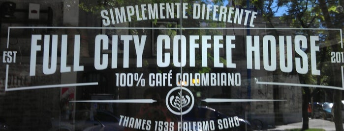 Full City Coffee House is one of Buenos Aires.