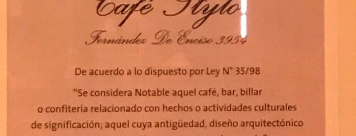 Stylo Café is one of Listas wi fi.