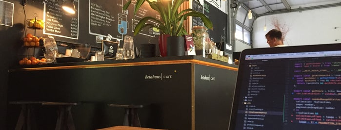 betahaus café is one of Berlin.
