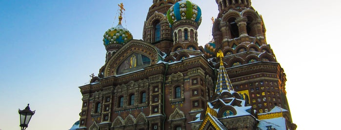 Church of the Savior on the Spilled Blood is one of СПб Art.
