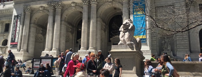 New York City Library - Main Branch is one of Venues featured on the Artists Den.