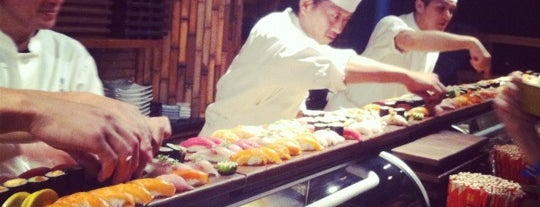 Blue Ribbon Sushi Izakaya is one of Quick, I need a date spot..