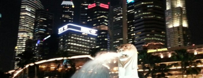 The Merlion is one of To-Do in Singapore.