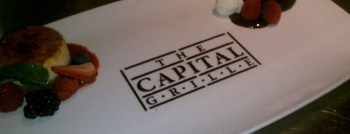 The Capital Grille is one of The 15 Best Places for Steak in Cincinnati.