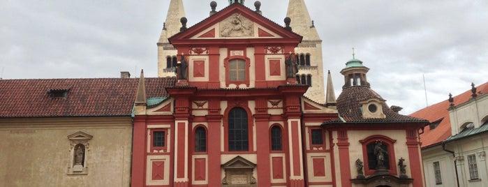 Bazilika sv. Jiří is one of Prague.