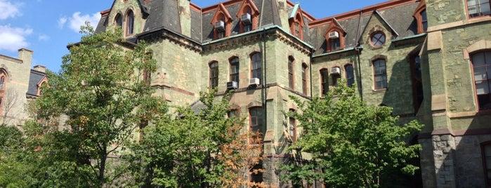 Perelman Quadrangle is one of Alyssa's University City.