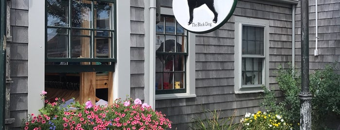 The Black Dog - General Store is one of Nantucket.