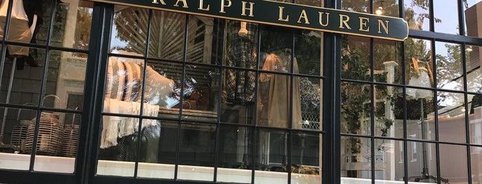 Polo Ralph Lauren is one of Nantucket.
