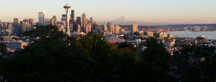 Kerry Park is one of Seattle's Best Great Outdoors - 2013.