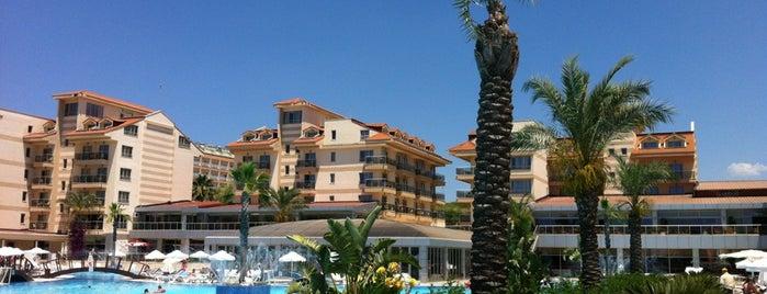 Grand Pearl Beach Resort & SPA is one of Turkiye Hotels.