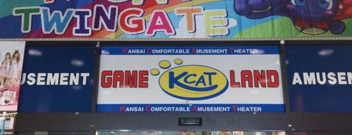 K-CAT ツインゲート店 is one of ゲーセン.