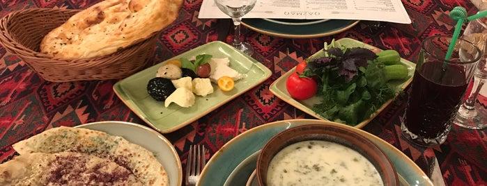 Qazmaq Restorani is one of Restaurants in Baku (my suggestions).