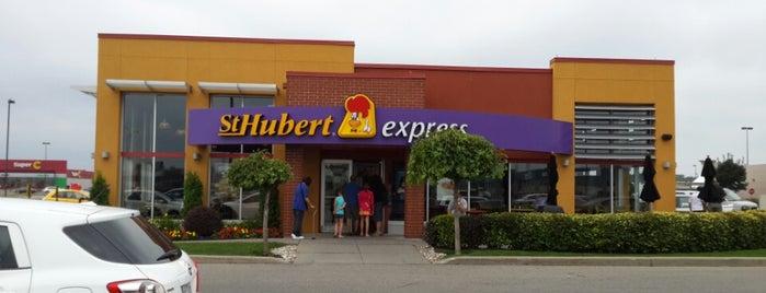 St-Hubert Express is one of DEUCE44 III.
