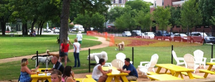 Mutts Canine Cantina is one of Our 17 Favorite Pup-Friendly Places.