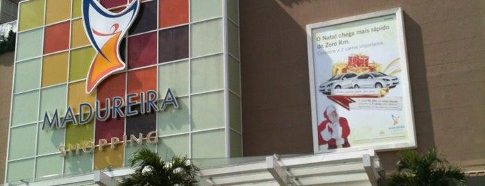 Madureira Shopping is one of Comida & Diversão RJ.