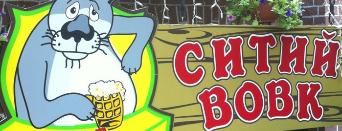 Ситий вовк is one of My beer places.
