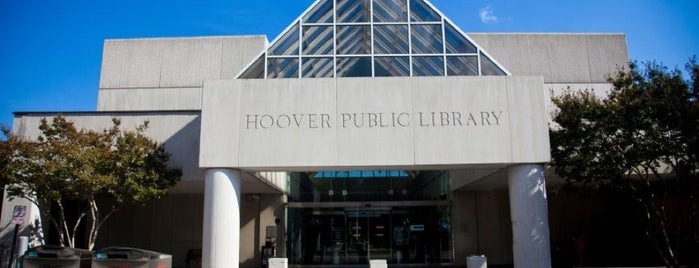 Hoover Public Library is one of Meeting Locations.