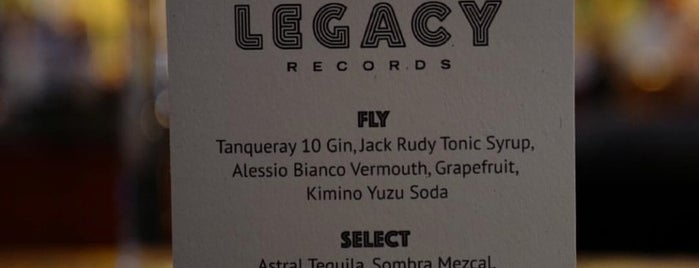 Legacy Records is one of Manhattan 2.