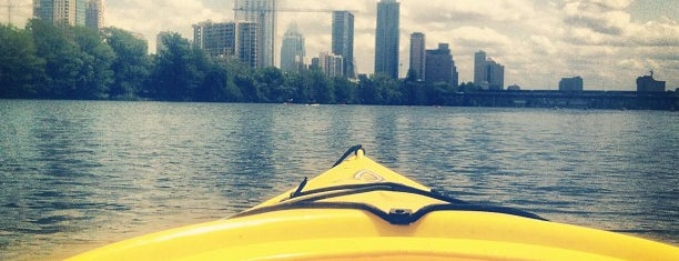 Lady Bird Lake is one of Austin!.