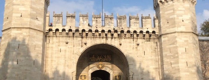 Topkapı Palace is one of My Istambul.