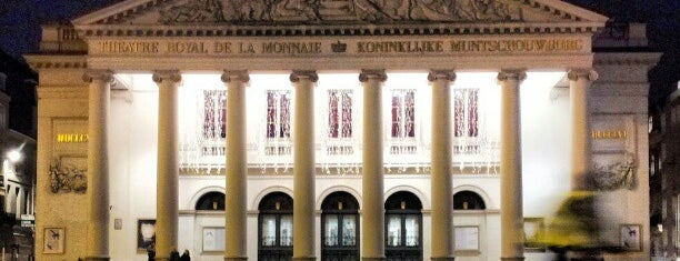 La Monnaie is one of Bruxelles, ma belle.
