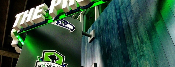 The Pro Shop at CenturyLink Field is one of BADGE.