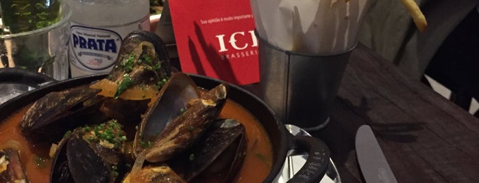 ICI Brasserie is one of Explorando.