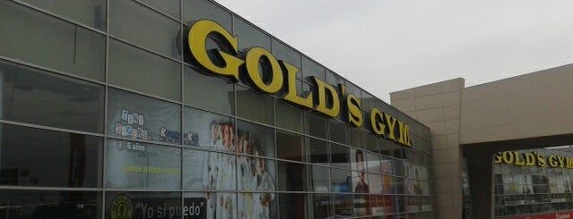 Gold's Gym is one of Lugares visitados.