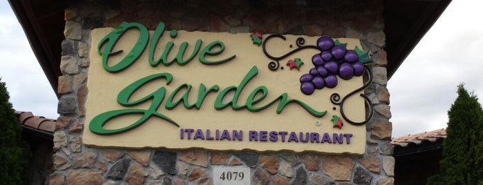 Olive Garden is one of my new longer done list.