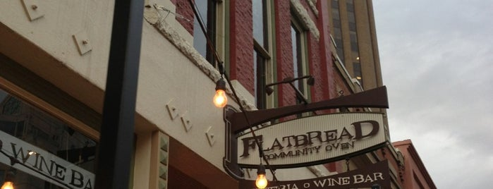 Flatbread is one of Boise.