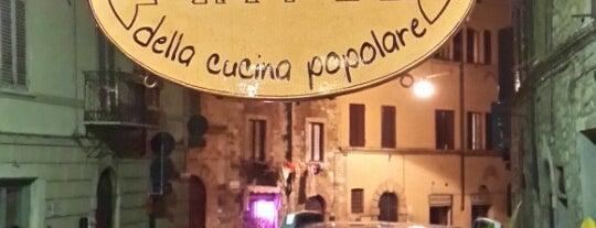 Officina della Cucina Popolare is one of ristoranti.