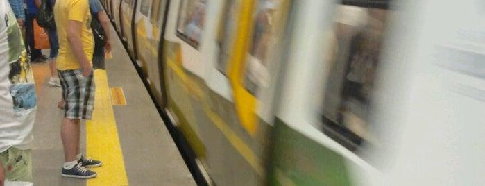 Kadıköy - Kartal Metrosu (M4) is one of İstanbul'daki Raylı Hatlar.
