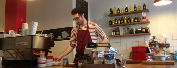 With Jam and Bread is one of Specialty Coffee Shops Part 2 (London).