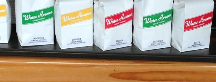 Water Avenue Coffee Company is one of Worldwide Coffee Guide.