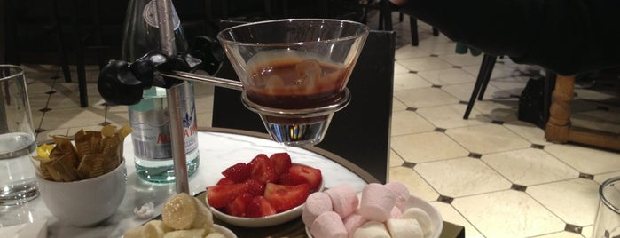 Cafe Godiva is one of Places to try.