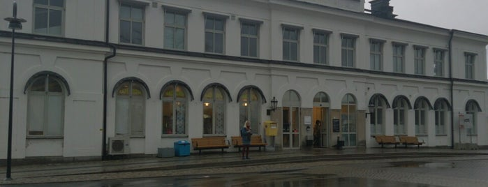 Karlskrona Centralstation is one of Tågstationer - Sverige.