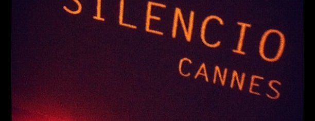 Le Silencio Cannes is one of Cannes - Must do.