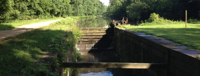 Chataqua Lock (Lock #7) is one of Places to fish.