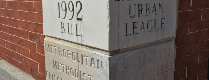 Baltimore Urban League is one of 50 Years of Baltimore Preservation Award Winners.