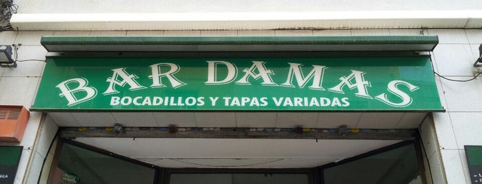 Bar Damas is one of Restaurant TOP LIST.