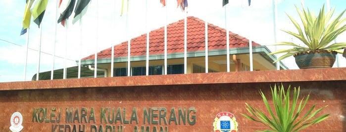 Kolej MARA Kuala Nerang is one of Learning Centers,MY #5.